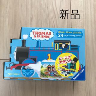 トイザラス(トイザらス)の新品 トーマス パズル ピースが大きいフロアパズル24ピース 3歳以上(知育玩具)