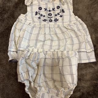 プティマイン(petit main)のセットアップ 80cm 女の子(セレモニードレス/スーツ)