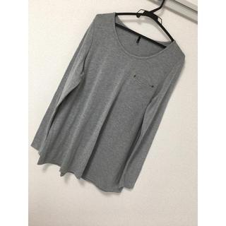 アップタイト(uptight)のUPTIGHTロングTシャツ♡美品(Tシャツ(長袖/七分))