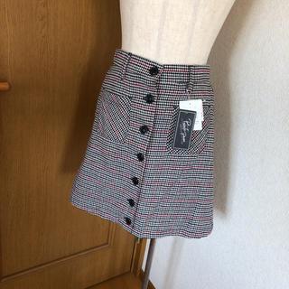 シマムラ(しまむら)の【新品】台形スカート(ミニスカート)