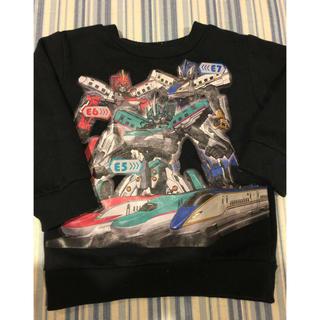 シマムラ(しまむら)の中古 シンカリオン トレーナー 90(Tシャツ/カットソー)