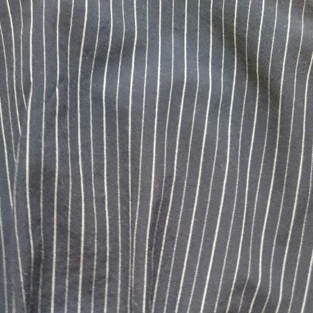 しまむら(シマムラ)の[送料込]TO-57 ネイビーストライプノースリーブトップス レディースのトップス(カットソー(半袖/袖なし))の商品写真