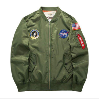 ma-1 NASA 本日のみ10%値下げ(フライトジャケット)