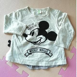 ディズニー(Disney)のDisney 長袖シャツ 80(シャツ/カットソー)