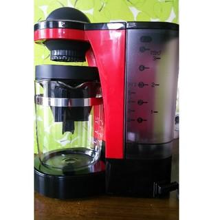 パナソニック(Panasonic)のPanasonic ミル付き(浄水)コーヒーメーカー  NC-R400-R (コーヒーメーカー)