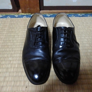 ピエールバルマン(Pierre Balmain)のピエールバルマン 24.5 ストレートチップ 革靴 ビジネスシューズ(ドレス/ビジネス)