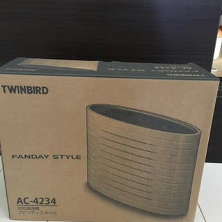 ツインバード(TWINBIRD)のTWINBIRD空気清浄機(空気清浄器)