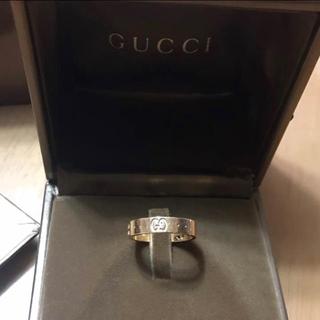グッチ(Gucci)のGUCCI 正規品 18K 指輪 ピンクゴールド(リング(指輪))