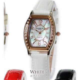 アレッサンドラオーラ(ALESSANdRA OLLA)のAlessandra Olla 腕時計 ホワイト(腕時計)