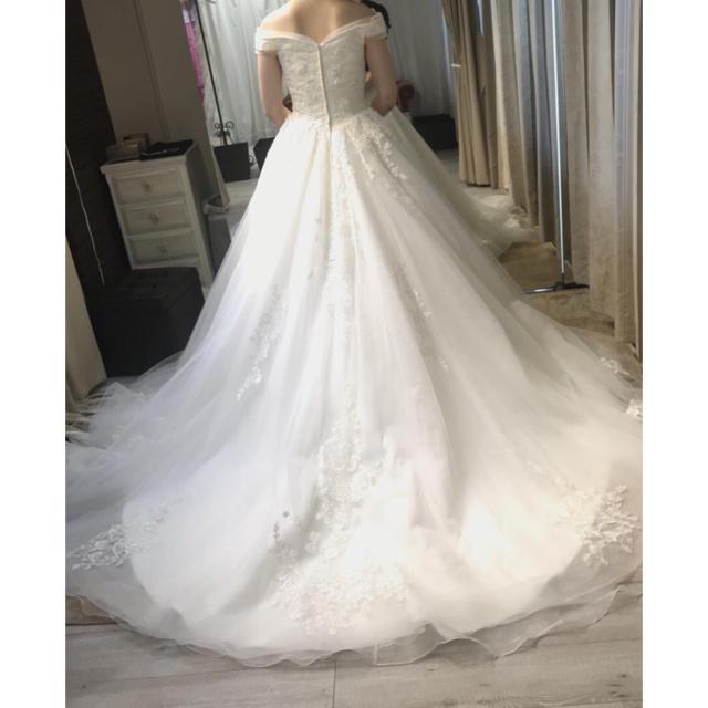11d68a94cabb2 YNS ドレス パニエ付き 大幅値下げ レディースのフォーマル ドレス(ウェディングドレス)の