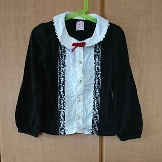 アクシーズファム(axes femme)の黒 アクシーズファムキッズ プルオーバー 120(Tシャツ/カットソー)