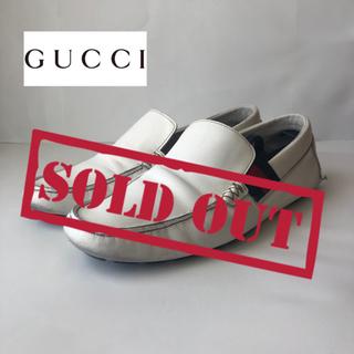 グッチ(Gucci)の【週末セール】GUCCI ドライビングシューズ size 27.0(スリッポン/モカシン)