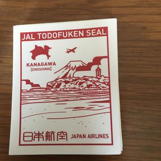 ジャル(ニホンコウクウ)(JAL(日本航空))のJALシール  神奈川  一枚(航空機)