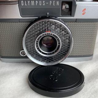 オリンパス(OLYMPUS)のオリンパス OLYMPUS-PEN-EE S シルバー(フィルムカメラ)