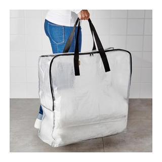 イケア(IKEA)のタグ付新品♡IKEA DIMPA 半透明バッグ 輪行バッグ イケア ディムパ(バッグ)