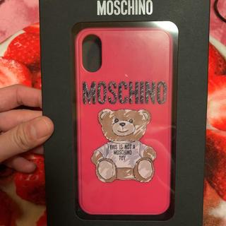 d418bda40f モスキーノ(MOSCHINO)のMOSCHINO モスキーノ テディベア iPhoneX/XS ケース(モバイルケース/