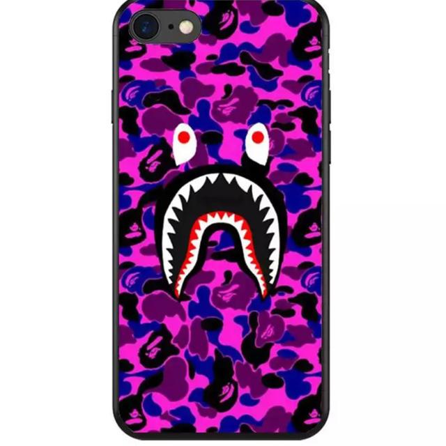 大人気★ BAPE iPhoneケース ブランド サメ シリコンの通販 by リツshop 海外|ラクマ
