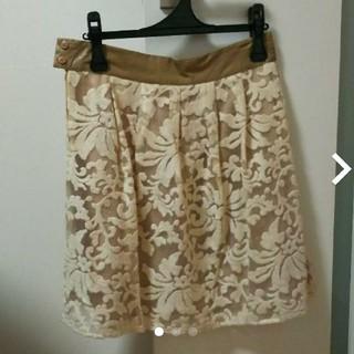 ドールアップウップス(doll up oops)のスカート(ひざ丈スカート)
