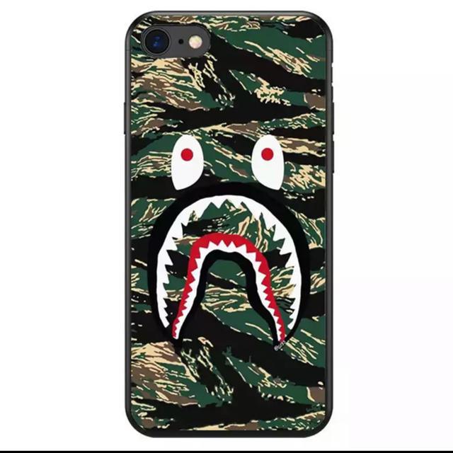 コーチ iPhone8 ケース 手帳型 | 大人気★ BAPE iPhoneケース ブランド サメ シリコンの通販 by リツshop 海外|ラクマ