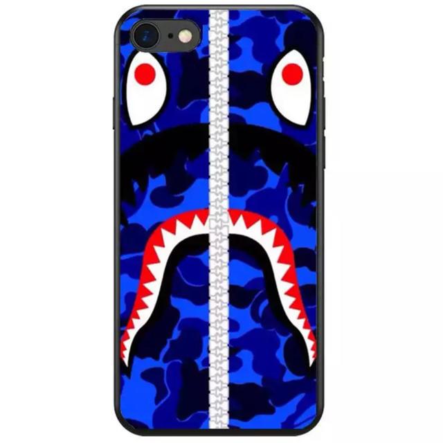 スマートフォンカバー ブランド | 大人気★ BAPE iPhoneケース ブランド サメ シリコンの通販 by リツshop 海外|ラクマ