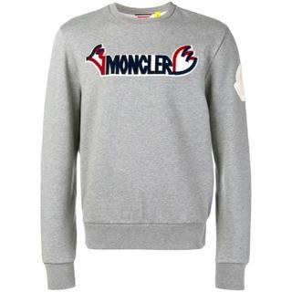 モンクレール(MONCLER)の新品未使用!送料込み★MONCLER★ロゴスウェットシャツ(スウェット)