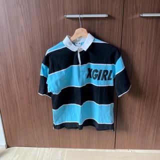 エックスガール(X-girl)のx-girl襟付きシャツ(Tシャツ(半袖/袖なし))
