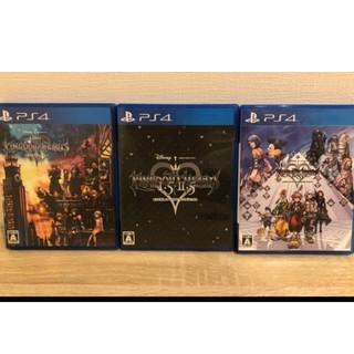 プレイステーション4(PlayStation4)の早い者勝ち!PS4 キングダムハーツ 全作品まとめ売りセット!!(家庭用ゲームソフト)