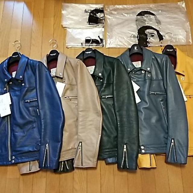 UNDERCOVER(アンダーカバー)の幻!! 12ss アンダーカバー サイコカラー ライダース 全色セット売り!! メンズのジャケット/アウター(ライダースジャケット)の商品写真