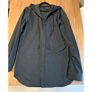 バレンシアガ(Balenciaga)のバレンシアガ フーディーシャツ 38 美品(シャツ)