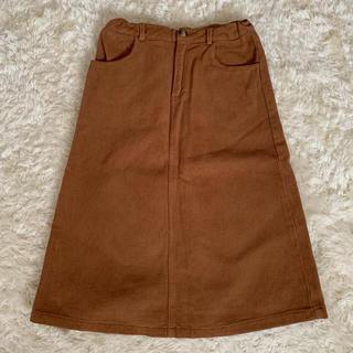 ZARA - ザラガール柔らかなコーデュロイスカート152