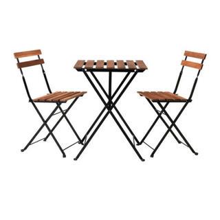 イケア(IKEA)のIKEA☆ガーデンテーブルセット(ダイニングテーブル)