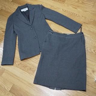 ナチュラルビューティーベーシック(NATURAL BEAUTY BASIC)のBLUE様  専用 NATURAL BEAUTY BASIC  スカートスーツ(スーツ)