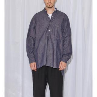 コモリ(COMOLI)のcomoli 19SS 新作 完売 パープルダンガリープルオーバーシャツ 2 (シャツ)
