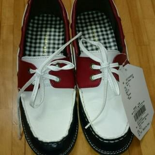 イーハイフンワールドギャラリー(E hyphen world gallery)のイーハイフン☆DICKシューズ Sサイズ(ローファー/革靴)