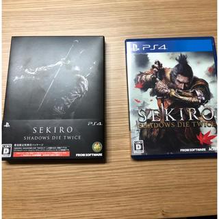 プレイステーション4(PlayStation4)のPS4 SEKIRO(せきろう) コード未使用 中古品(家庭用ゲームソフト)