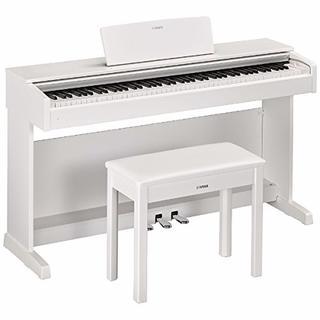 ヤマハ(ヤマハ)のヤマハ 電子ピアノ (ホワイトウッド調仕上げ)YAMAHA ARIUS アリウス(電子ピアノ)