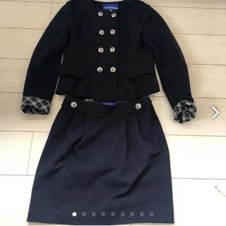 バーバリーブルーレーベル(BURBERRY BLUE LABEL)のスーツ Burberry ブルーレーベル  送料込 貴重 折り返しチェック 大学(スーツ)