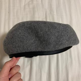 スピンズ(SPINNS)のベレー帽 グレー(ハンチング/ベレー帽)