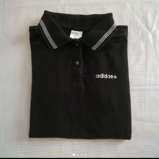 アディダス(adidas)のadidas 襟付きポロシャツ Mサイズ(ポロシャツ)