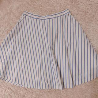 マーキュリーデュオ(MERCURYDUO)のマーキュリーデュオ ストライプスカート(ミニスカート)