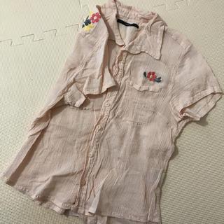 カスタネ(Kastane)のカスタネ 刺繍 半袖シャツ(シャツ/ブラウス(半袖/袖なし))