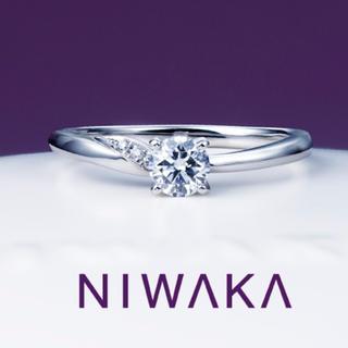 ニワカ(俄)の俄 プラチナ ダイヤモンド リング(リング(指輪))