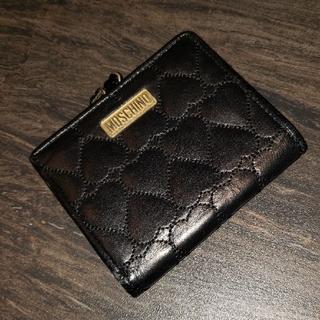 モスキーノ(MOSCHINO)のモスキーノ 折り財布 黒(財布)