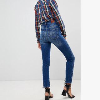 ペペジーンズ(Pepe Jeans)のPepe jeans ハイウエスト ストレートデニム 期間限定値下げ中(デニム/ジーンズ)