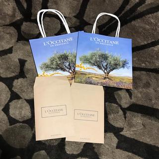 ロクシタン(L'OCCITANE)のロクシタン❣️紙袋(ショップ袋)
