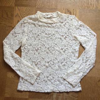 ジーユー(GU)のレーストップス(Tシャツ(長袖/七分))