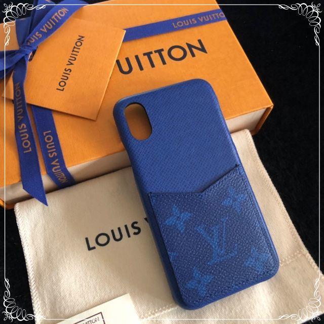 iphone 7 plus ケース 手帳 | LOUIS VUITTON - 新品・バンパー☆コバルト【Louis Vuitton】iPhoneX/XS対応の通販 by My heart's shop|ルイヴィトンならラクマ