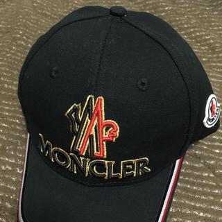 モンクレール(MONCLER)のモンクレール キャップ 帽子 メンズ フリーサイズ(キャップ)