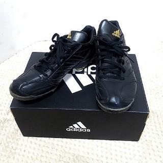 アディダス(adidas)の☆NEMIさん専用☆adidas 軟式少年野球 スパイクシューズ 黒 24.0(シューズ)