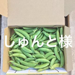 鹿児島産箱込みスナップエンドウ500g^_^(野菜)